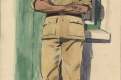 Adam Isaacs of the South African Cape Corps 1942?