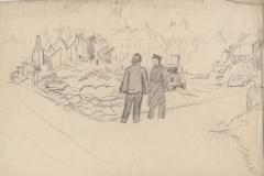 V1: London 4 blocks flattened August 1944