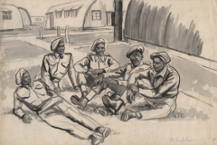 Unknown company of soldiers. maybe 1941 South Africa: