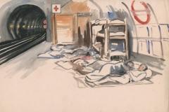 London Underground Oct 1944