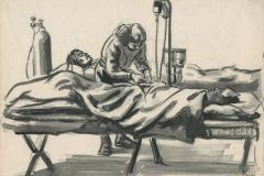 Shock Ward, Evacuation hospital Morhanges