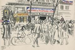 Paris street November 1944