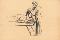 American frontline nurse